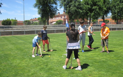 Demostració de Ground Golf a Riudoms